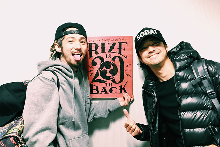 TODAY】RIZE秋のツアー「秋季爆...